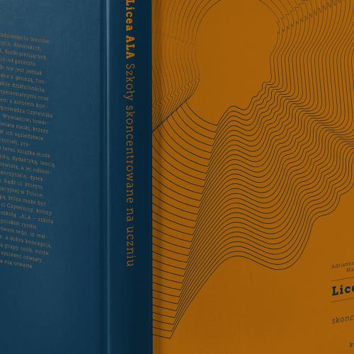 Okładka książki projekt