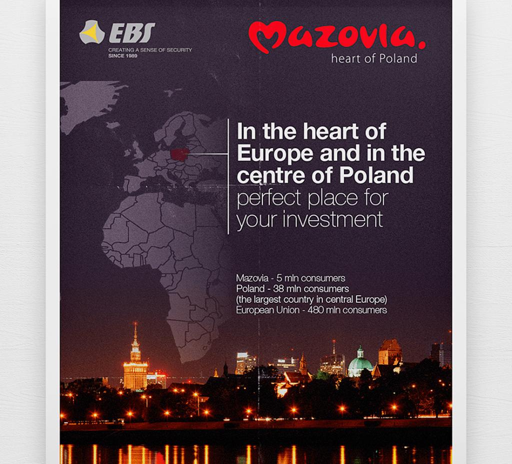 Projekt plakatu Mazovia