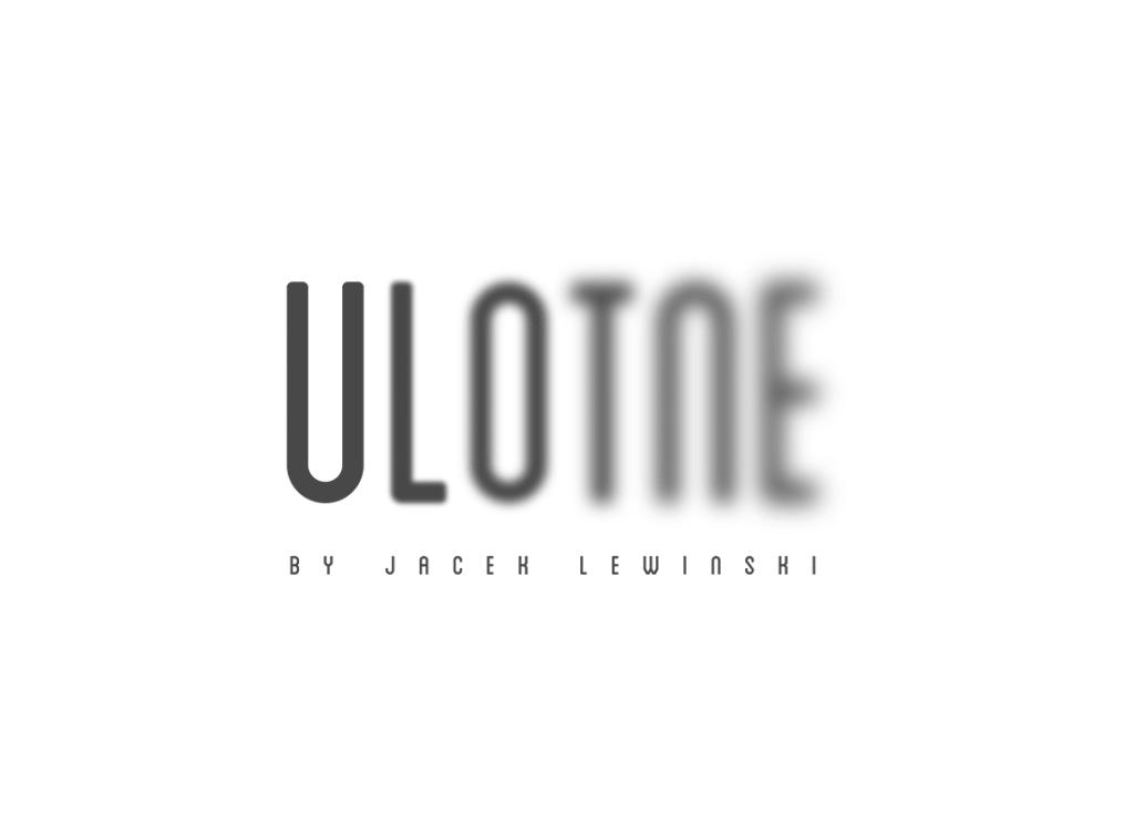 Logotyp studio fotografii Ulotne