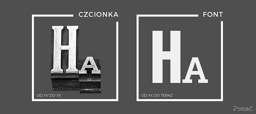 Czcionka czy font