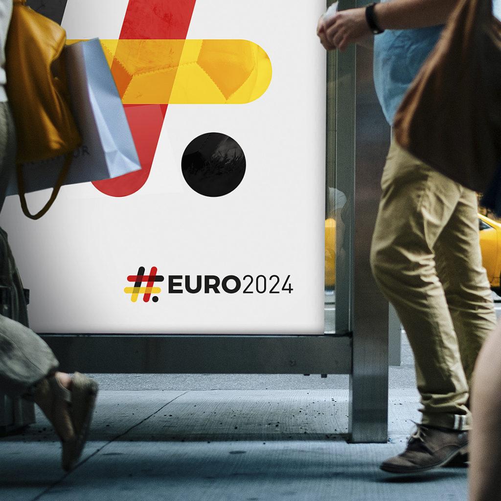 Logo Euro 2024 projekt koncepcyjny