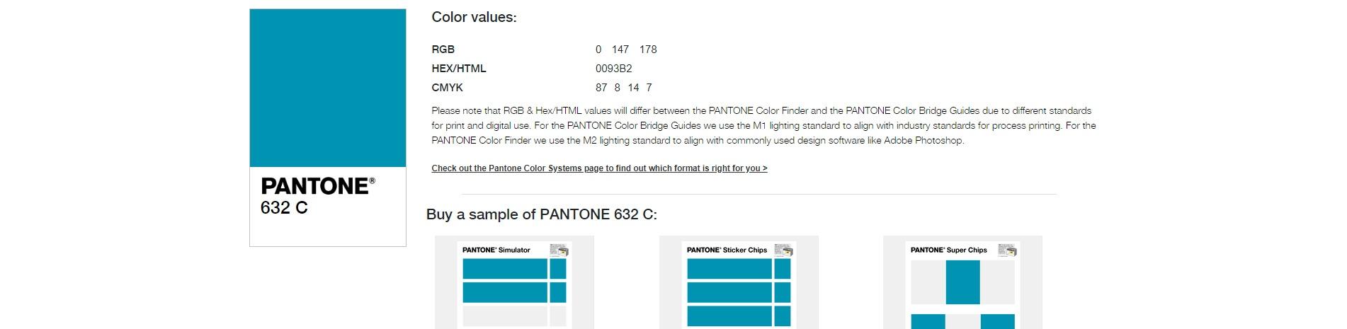 Kolory Pantone w grafice