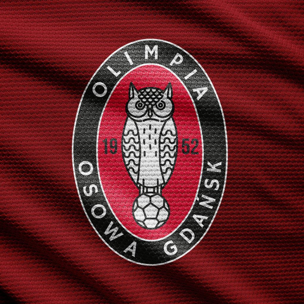 Rebranding logo Gdańsk Olimpia Osowa