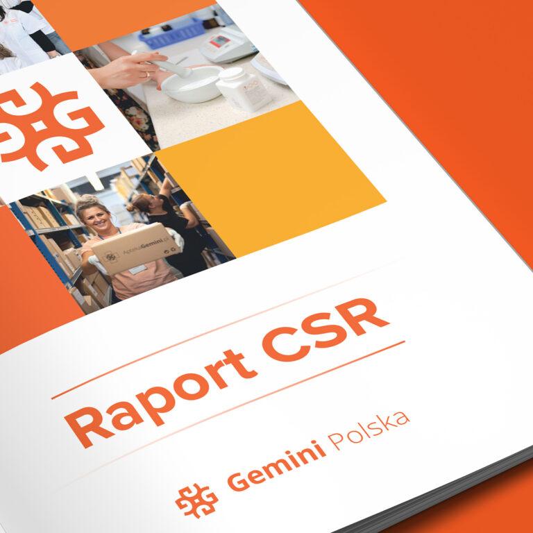 Projekt raportu CSR dla Gemini Polska